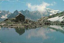 BF20799 mont blanc matin au lac blanc chamonix france   front/back image