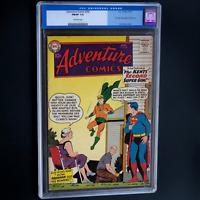 ADVENTURE COMICS #260 (DC 1959) 💥 CGC 7.0 💥 1ST SA ORIGIN OF AQUAMAN! SUPERMAN