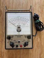 National Technical School Nts 468 Model 110 Vtvm Volt Meter