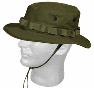 Military Issued OD Green Boonie Hat-NEW