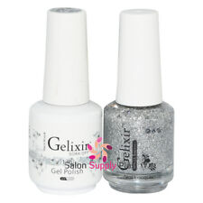 GELIXIR Soak Off Gel Polish Duo Set (Gel + Matching Lacquer) - 136