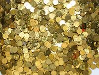 Konvolut Polen - Münzen 1 Grosz 1990-2014 Messing Mischung 1 KILOGRAMM 1 Kg LOT