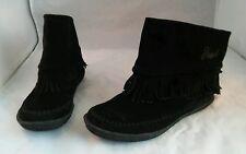 DIESEL Heart Free Women's Black Booties Size US 8
