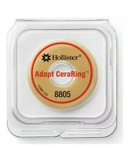 """HOLLISTER #8805 Adapt CerraRing Barrier Ring 2""""  Only 5 Pieces Ostomy Colostomy"""