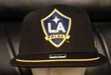 fc982976c6919 Los Angeles LA Galaxy Adidas Black Performance Flexfit Hat Cap (S M) free