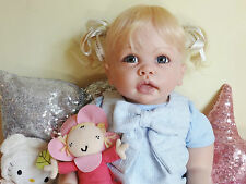 CUSTOM MADE REBORN TODDLER BABY GIRL TIPPI BY LINDA MURRAY PEBEBE NURSERY!