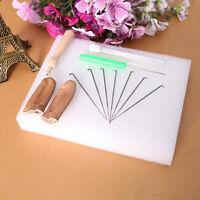 Needle Felting Starter Kit Wool Felt Tools Mat/Needle/Accessories Craft