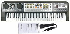 49 Key Digital Music Electronic Keyboard & Microphone Electric LED Piano Organ