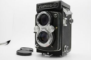 [Mint] Yashica-D 6x6 Tlr Film Fotocamera Yashinon 80mm F/3.5 Lente Da