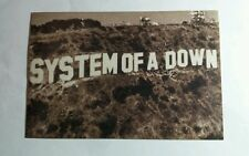SOAD SYSTEM OF A DOWN TOXICITY  MUSIC 4x6 MUSIC POSTCARD