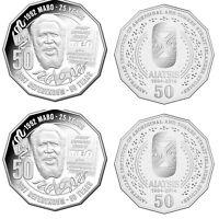 1x MABO 50 Cent and 1x AIATSIS UNC Coins Australia.very Rare coin.very rare.
