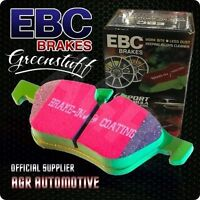 EBC GREENSTUFF FRONT PADS DP2605/2 FOR FORD ESCORT MK4 1.6 RS TURBO 86-91