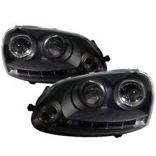 Spyder Auto 5012098 Projector Headlights (Black) Fits 06-09 VW GTI/Jetta/Rabbit