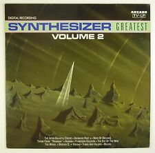 """12"""" LP - Various - Synthesizer Greatest 2 - B1065 - washed & cleaned"""