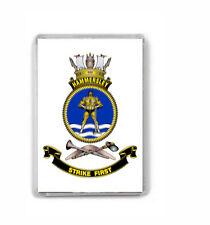 HMAS HAMMERSLEY ROYAL AUSTRALIAN NAVY FRIDGE MAGNET IMAGE FUZZY TO STOP THEFT