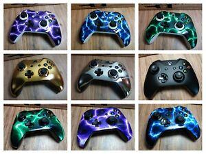 Microsoft Xbox One S Wireless Controller Custom Lightning, Blue,Green,Red,Yellow