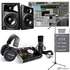 M-Audio M-Track 2x2 Vocal Studio Pro Tools Studio Production AV32 Package Bundle