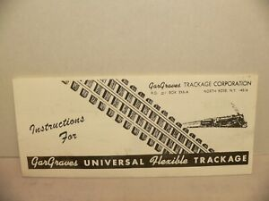 """GarGraves S Guage 37"""" S-Gauge Tinplated rails Straight Track 12 Pieces"""
