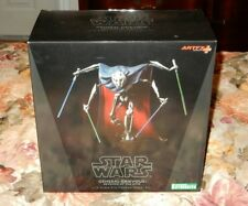 STAR WARS SERIES STATUE KOTOBUKIYA ARTFX+ CLONE WARS GENERAL GRIEVOUS 1/10 BLACK