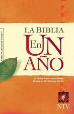 La Biblia En Un A?o Ntv (spanish Edition)
