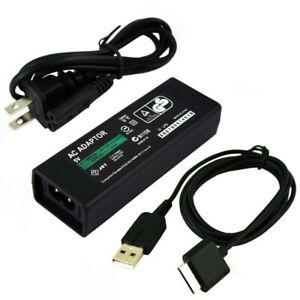 AC Adaptor Power Charger For PSP-N100 PSP GO With Charging Cable