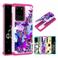 For Samsung Note20 S21 Ultra/S20+ Rugged Hybrid PC Shockproof Phone Case Cover