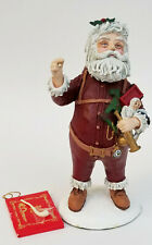 "Limited Ed. 4040/10000 Duncane Royale History Of Santa Nast Figurine ~ 9"""