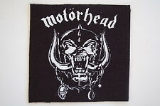 "Motorhead Cloth Patch Sew On Badge Rock Music Lemmy Megadeth Apprx 4""X4"" (CP103)"