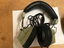 Vintage Realistic Nova 16 Stereo 8 Ohm Headphones Dual Volume Tested