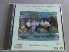 Cauter, Koen De - A Little Corner of Paradise New Orleans Swings CD