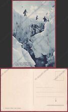 VALLE D'AOSTA COURMAYEUR 202 ALPINISMO - MONTE BIANCO - MONTAGNA Cartolina