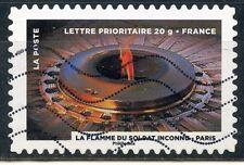 2TIMBRE FRANCE AUTOADHESIF OBLITERE N° 754 / LE TIMBRE FETE LE FEU