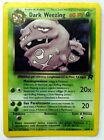 POKEMON TCG CARD GAME CARTE TEAM ROCKET DARK WEEZING HOLO FOIL 14/82 NUOVA