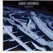 (ED725) Midnight Juggernauts, Memorium - 2013 DJ CD