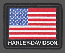 HARLEY DAVIDSON USA FLAG JACKET VEST  PATCH