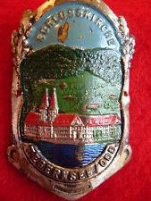 Tegernsee on der Wacht used badge stocknagel hiking medallion G1420