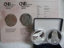 La república checa 2008 200 coronas moneda de plata coin pp proof-Josef hlavka -
