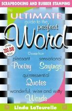 The Ultimate Guide to Perfect Word scrapping, journaling or stamping FAST EASY!