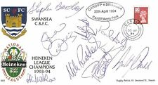 SWANSEA  - HEINEKEN LEAGUE CHAMPIONS 1993-94 SIGNED COVER, 25 AUTOGRAPHS + COA