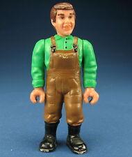 SCHLEICH 13400 -- Bauer - grünes Hemd / braune Hose - Farmer - Menschliche Figur