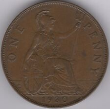 More details for 1930 george v one penny | british coins | pennies2pounds