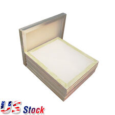 US Stock - 6pcs - 20x24 inch Aluminum Screen with 110 White Mesh Screen Printing