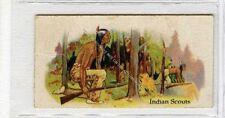 (Ga7263-100) Willards Canada, Indian Series, #13 Indian Scouts 1925 G-VG