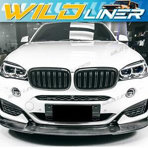For BMW X5 F15 X5M F85 X6 F16 X6M F86 Glossy Black Front Kidney Grille Grill