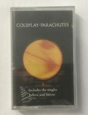 """Coldplay """"Parachutes"""" Tape Cassette NEW & SEALED *7243 5 27783 4 8* 2000 *RARE*"""