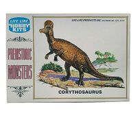 LIFE-LIKE PREHISTORIC MONSTERS MODEL KIT: Corythosaurus (1971) NEW IN BOX - RARE