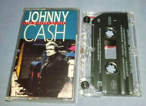 JOHNNY CASH THE MYSTERY OF LIFE cassette tape album A1581