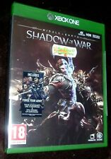Middle-earth: Shadow of War (Microsoft Xbox One, 2017)