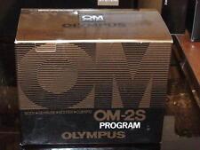 OLYMPUS OM-2S SPOT PROGRAM CAMERA BODY BOXED