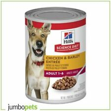 Hills Science Diet Adult Chicken and Barley Entree Canned Dog Food 12 x 370g